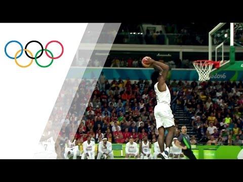 DeAndre Jordan´s sensational dunk against Serbia