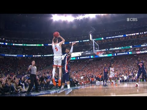 Dramatic Ending - Auburn vs Virginia - April 6, 2019 | 2019 NCAA March Madness - Final Four