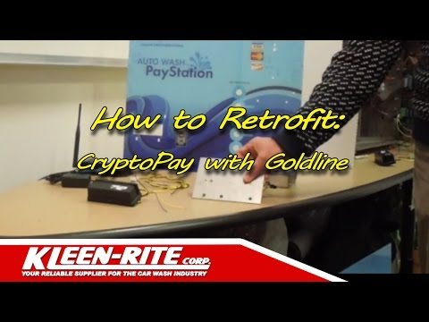 CryptoPay Retrofit Goldline Retrokit