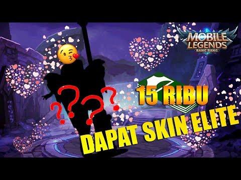 WOW! CUMA 15 REBU BISA DAPAT SKIN ELITE - Untung Besar!!! + Skin Giveaway Mobile Legends