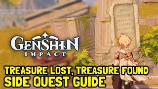 Download Genshin Impact Treasure Lost, Treasure Found Side Quest Guide