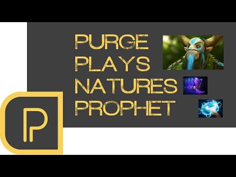 Dota 2 Purge plays Nature's Prophet -...