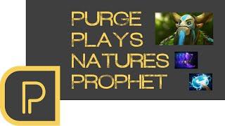Dota 2 Purge plays Nature's Prophet - replay