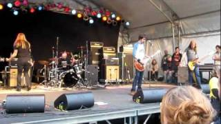 The Sword - Iron Swan  Live Sled island 2011