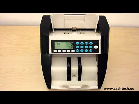 Cashtech 780 EURO value bill counter