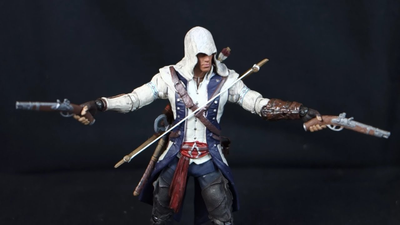 Connor Assassin S Creed Iii Mcfarlane Assassin S Creed Wave 1