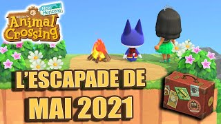 L'ESCAPADE LABYRINTHE DU 1er MAI VERSION 2021 ! | Animal Crossing New Horizons