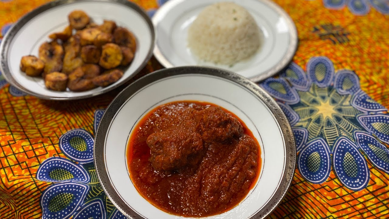 How to make Nigerian stew | West African cooking basics