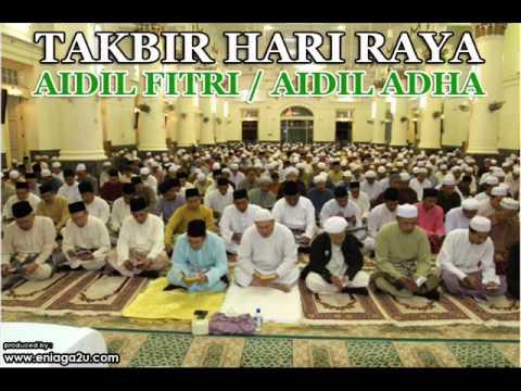 Lafaz Takbir Hari Raya Aidilfitri