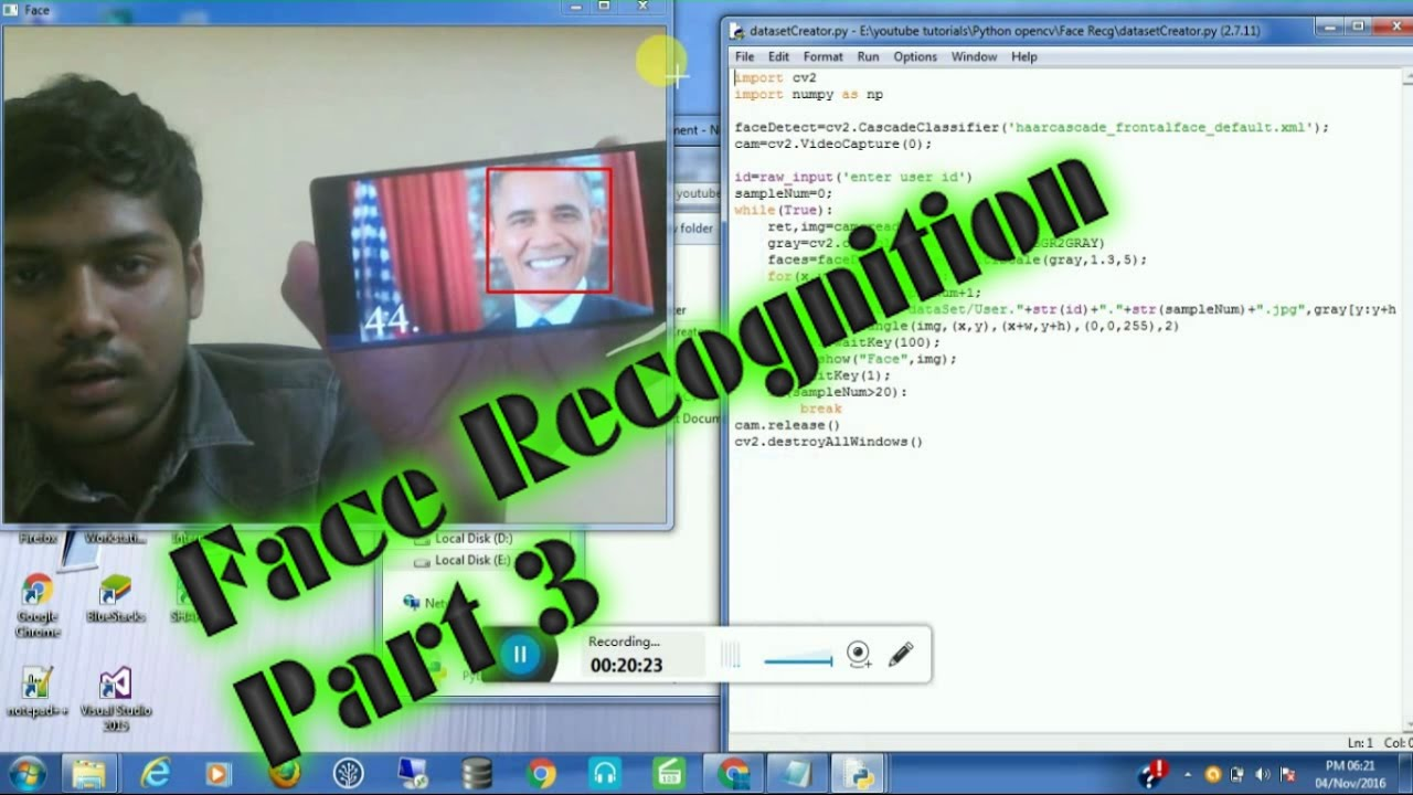 Facial recongnition file format will