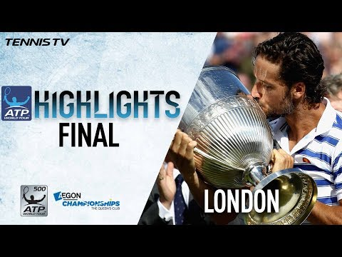 Highlights Lopez Saves MP For Queens Club 2017 Crown