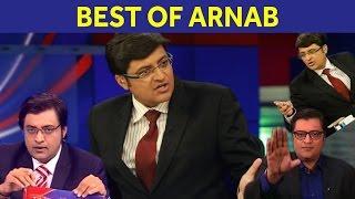 Top 6 arnab goswami debates | arnab scream, shouts, thrashes panelists