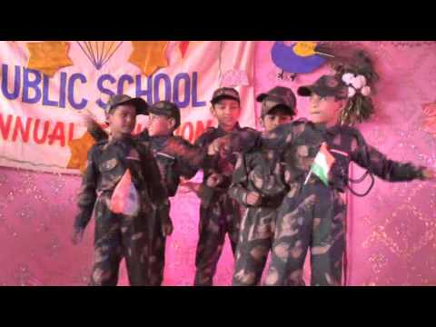 motivational dance by small kids of kohinoor public school