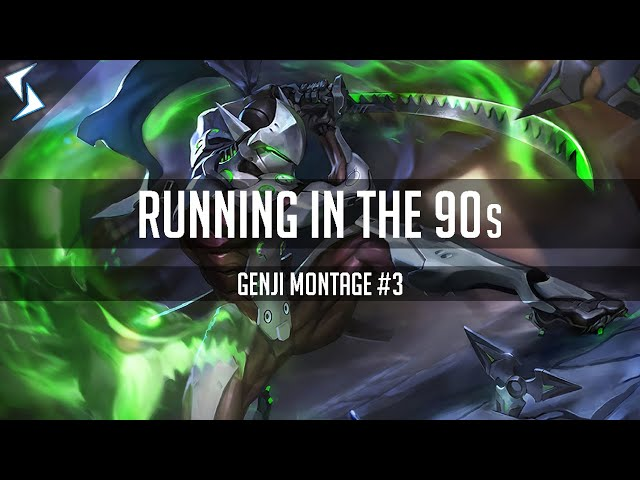 Running in the 90s - Overwatch Genji Montage