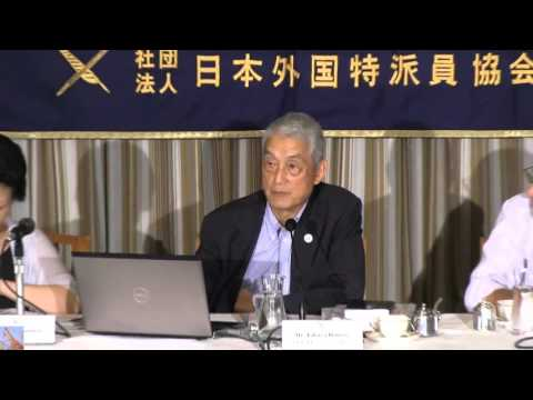 Fukushima w/ TEPCO's Fmr VP Hattori & Japan's Nuclear Energy Future 10/5/15