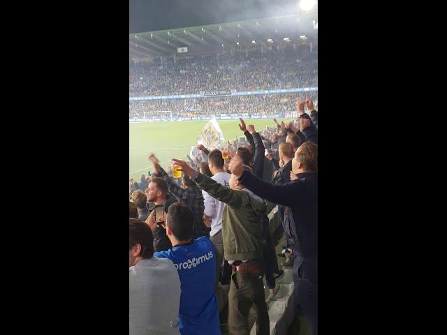 2018-2019 - Club Brugge-Cercle - Feestje Na De Overwinning