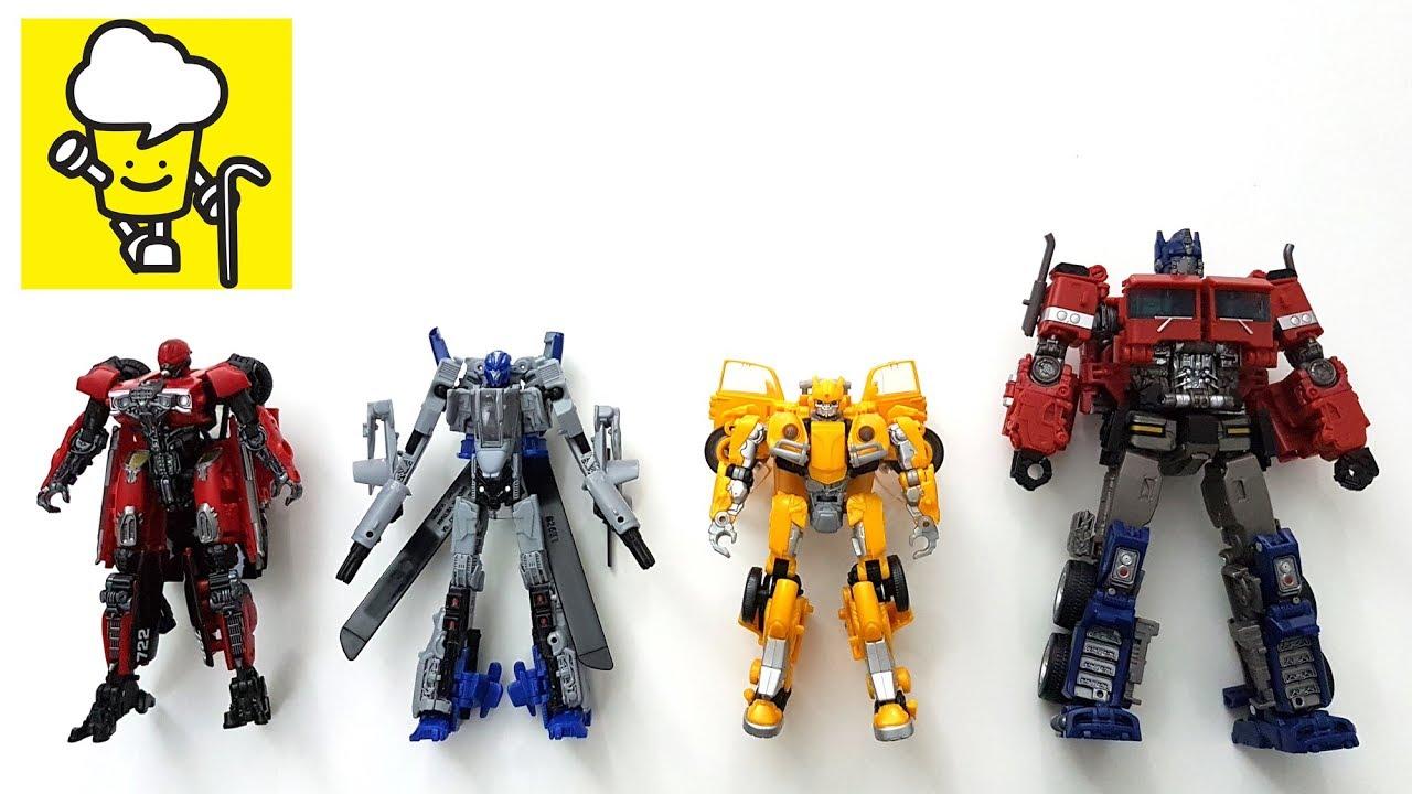 Bumblebee Movie Transformer Toys with Optimus Prime Bumblebee Shatter  Dropkick トランスフォーマー 變形金剛