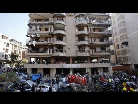 EXPLOSIONS NEAR IRAN'S BEIRUT EMBASSY - BBC NEWS