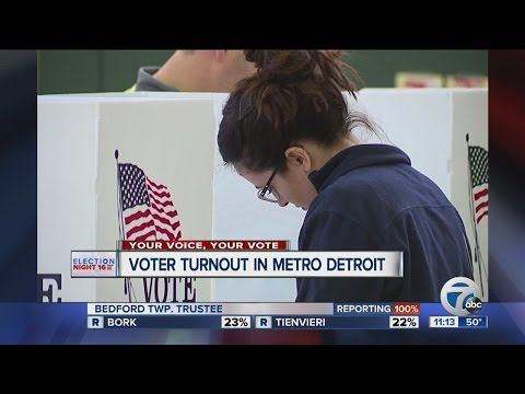 Latest from Michigan: Massive Detroit turnout in 2016 presidential election