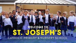 Welcome to St Joseph's Catholic Primary and Nursery School
