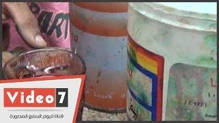 بالفيديو.. شاهد طرق غش الفول والكشرى والعصائر بالألوان الصناعية