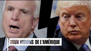 John McCain - Donald Trump : deux visions de la droite américaine