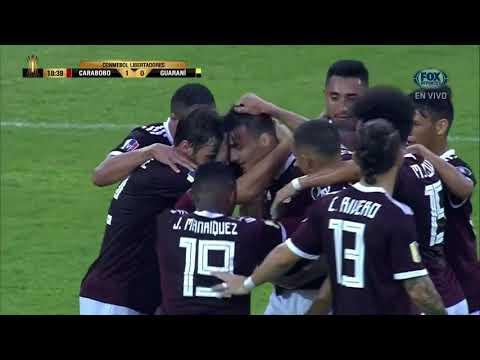 GOL: Carabobo 1-0 Guaraní