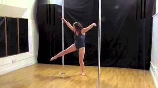 Erin: Beginners Pole Routine Tempest Dance Studio Competition December 2013