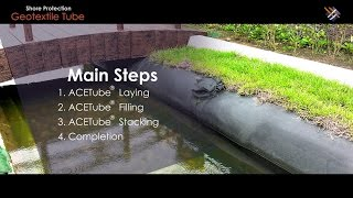 "Geosynthetic Application | How ""Geotextile Tube in Shore Protection"" is done?"