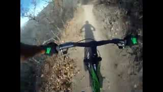 Gopro Downhill Mountain Biking Corner Canyon (Rush)