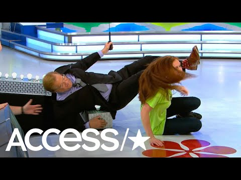 'The Price Is Right's' Drew Carey Was Almost Knocked Off The Stage By An Eager Contestant | Access