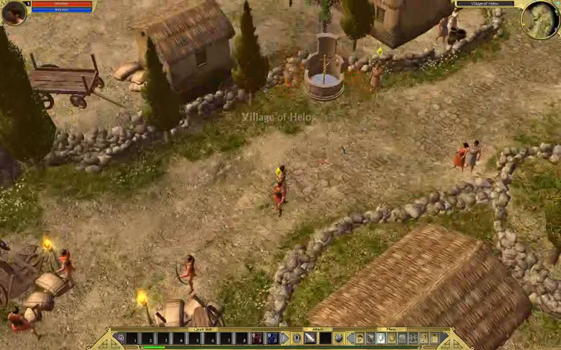 how to play titan quest multiplayer
