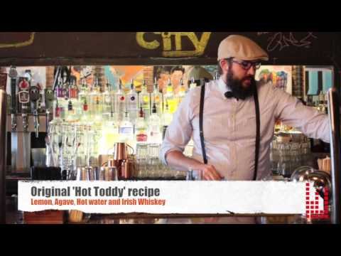 Mixologist Tyson Stirs Up A 'Hot Toddy'