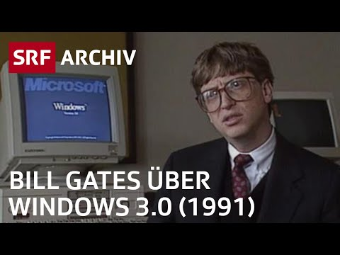 Windows 3.0 - Interview mit Bill Gates (1991)