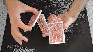 طريقة خلط أوراق اللعب كالمحترفين