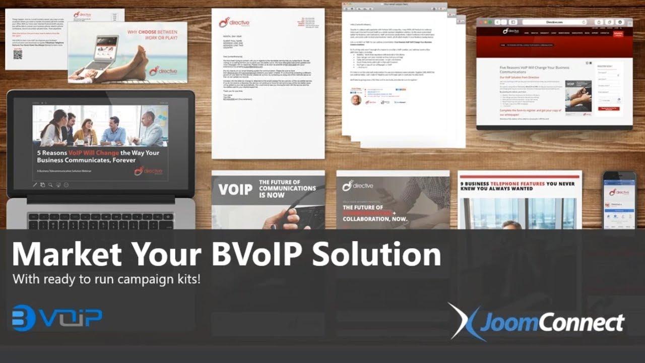 BVoIP Managed Marketing Program