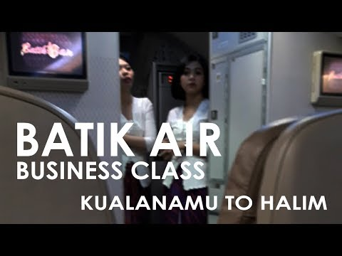 Batik Air Business Class | Medan to Jakarta