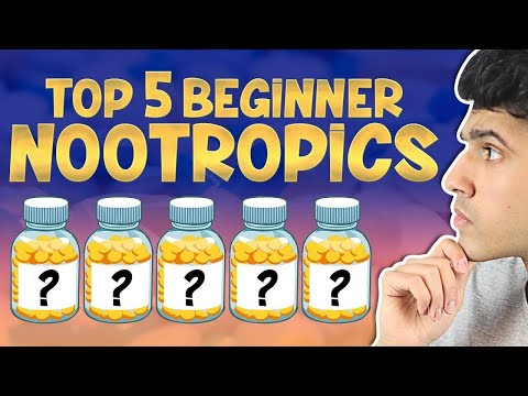 5 NOOTROPICS FOR BEGINNERS (and cheap)