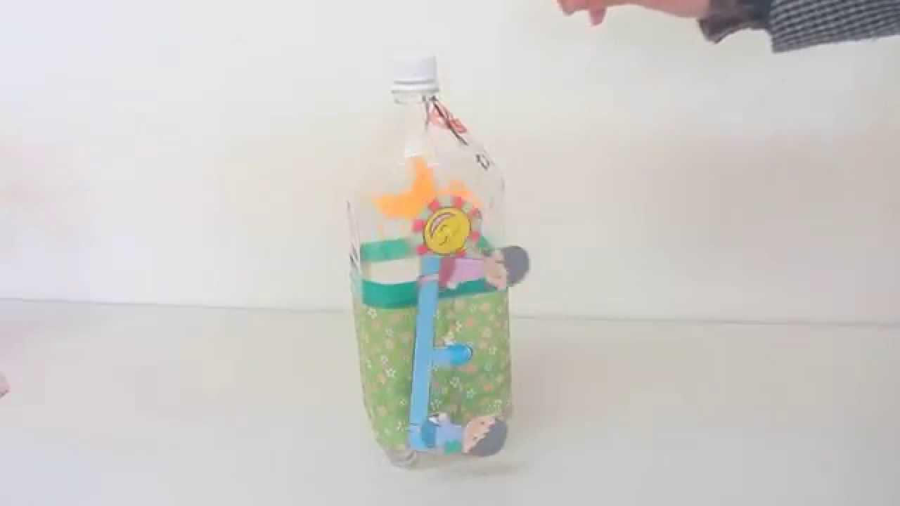 作り方 ペット ボトル 風車 の
