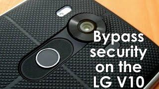 ثغرة أمنية في الهاتف LG V10 تتيح تجاوز مستشعر بصمات الأصابع