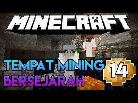 Cari Diamond Mudah Di Tempat Mining Ini! | Minecraft Survival Series (14)
