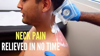 Neck Pain Relieved In No Time (REAL RESULTS!!!)