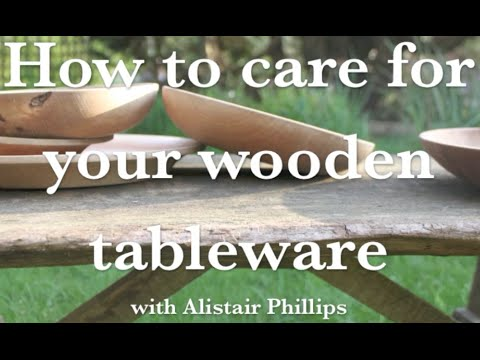 How to care for your wooden tableware