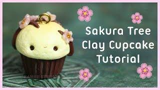 Sakura Tree Cupcake Tutorial