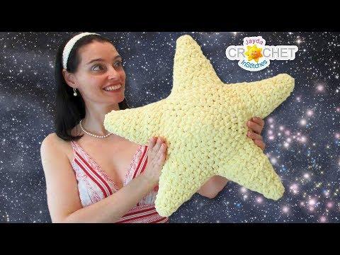 Big Fluffy Star Pillow