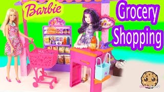 Barbie Doll Malibu Ave Grocery Store Market Life In The Dreamhouse Playset Toy Unboxing Cookieswirlc