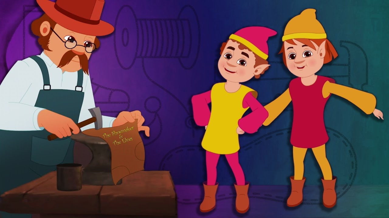 37fd3b36b9d2 Fairy Tales - The Elves And The Shoemaker - YouTube