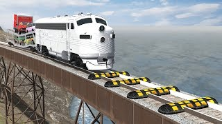 Train Speed Bumps - Beamng drive