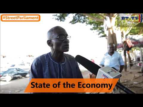#STREETPARLIAMENT  - STATE OF THE ECONOMY