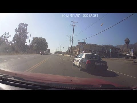 Reckless driving by law enforcement, Lake Elsinore C.A.